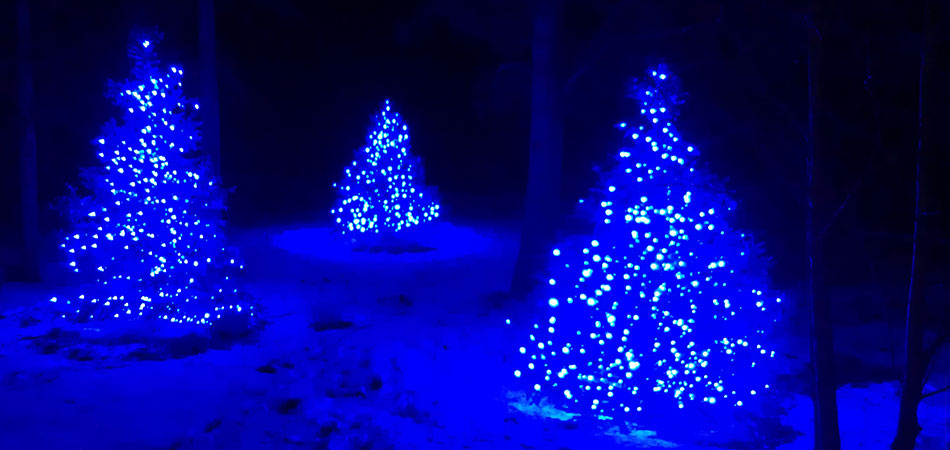 We can also install residential holiday light displays in Fraser and Tabernash.