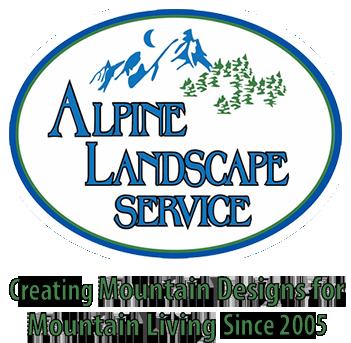 Alpine Landscape Service Logo
